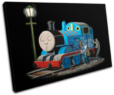 Thomas Tank Engine Banksy - 13-0950(00B)-SG32-LO
